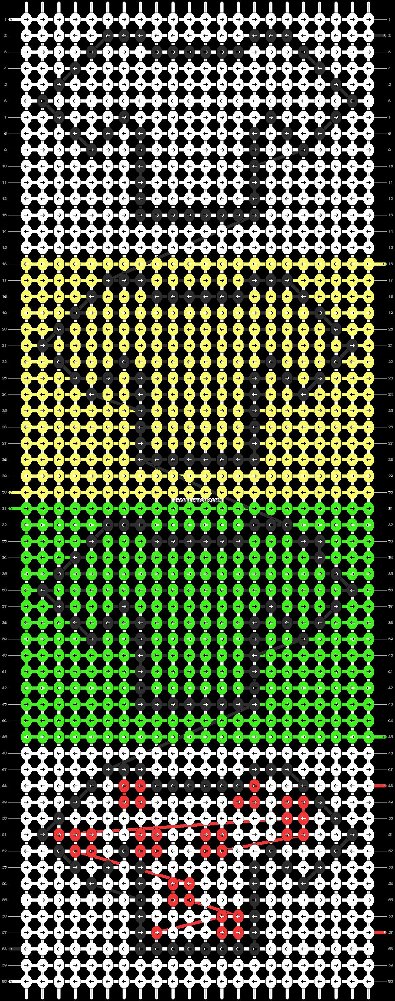 Alpha pattern #10816 pattern