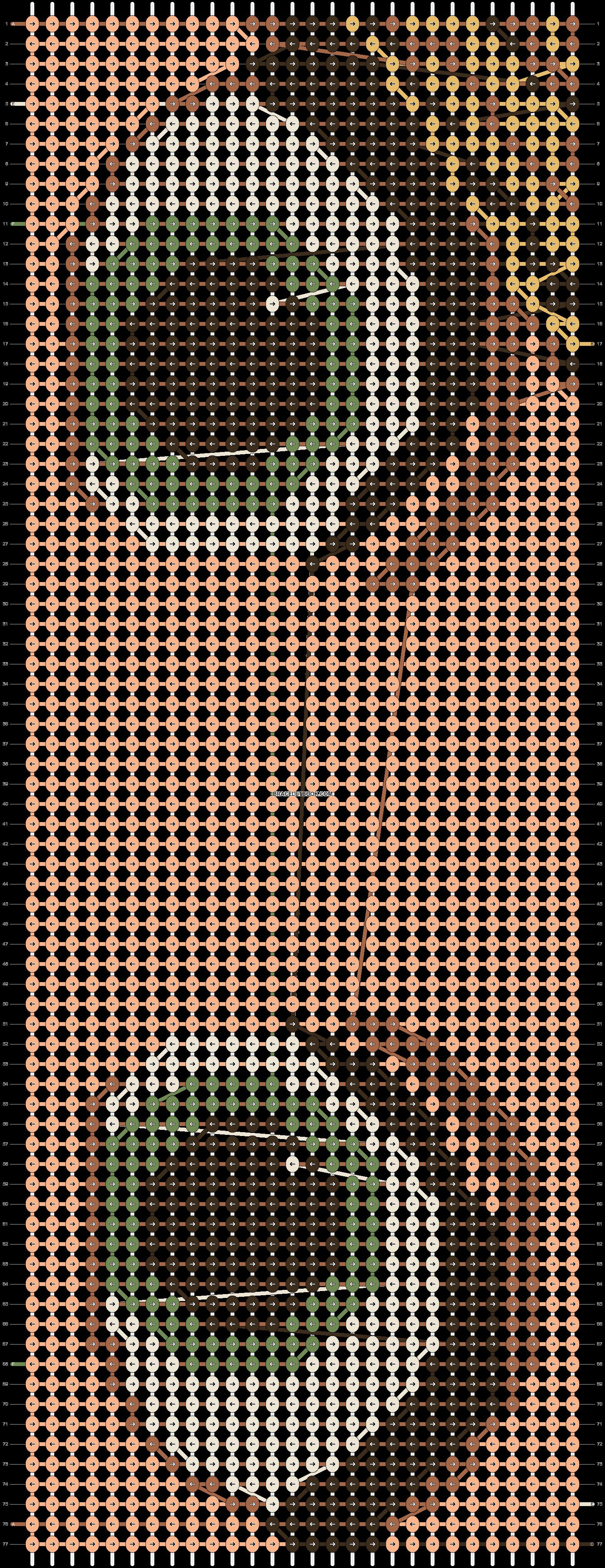 Alpha pattern #10818 pattern