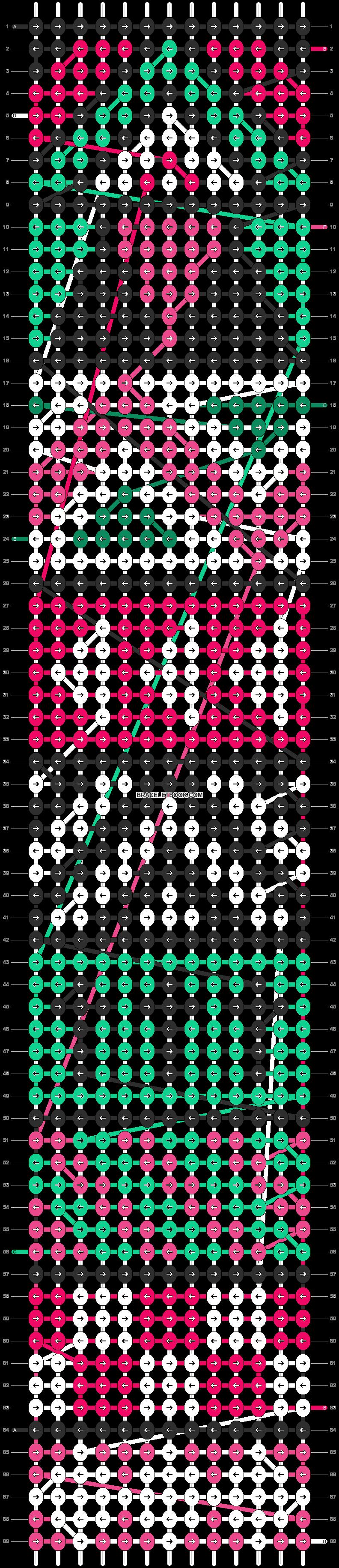 Alpha pattern #10821 pattern