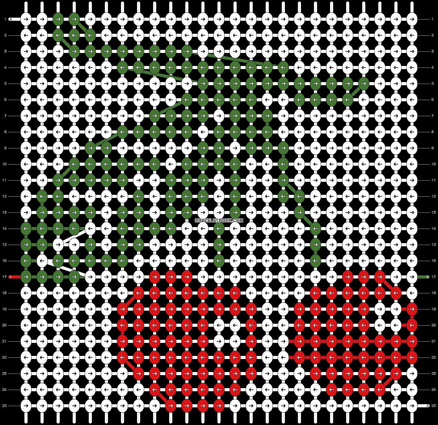 Alpha pattern #10826 pattern