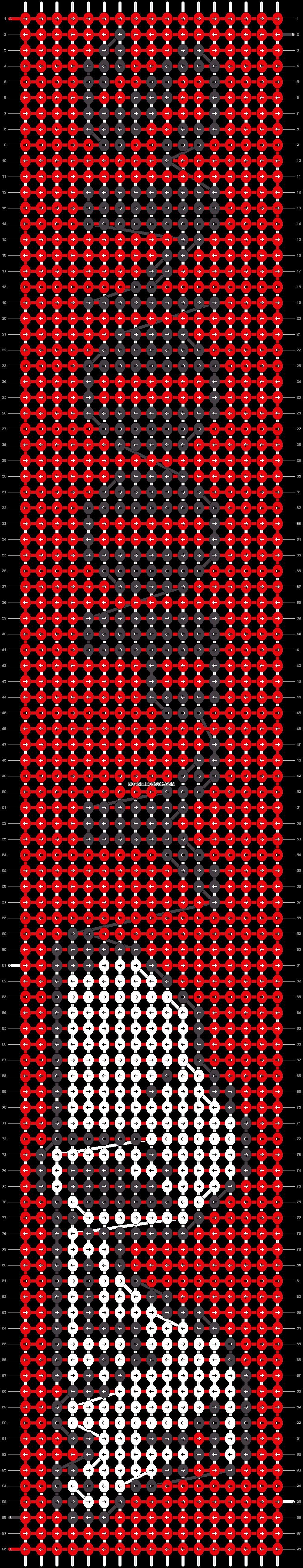 Alpha pattern #10830 pattern