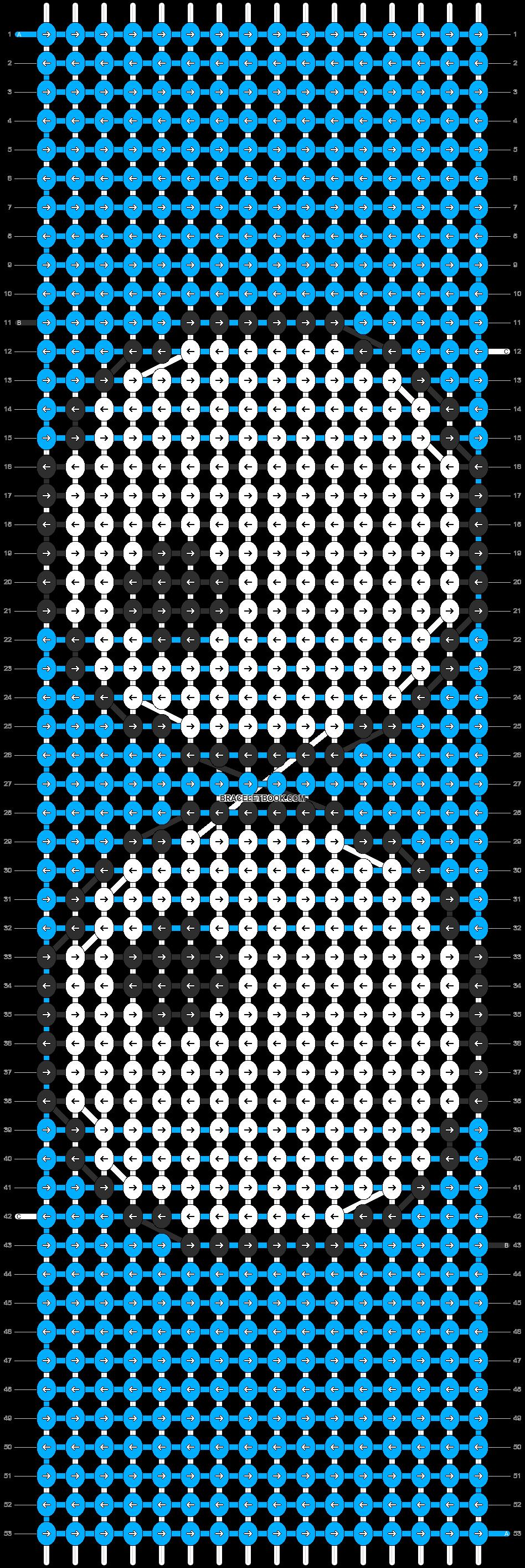Alpha pattern #10833 pattern