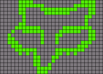 Alpha pattern #10840