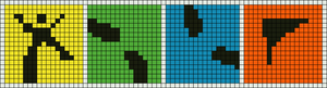 Alpha pattern #10841