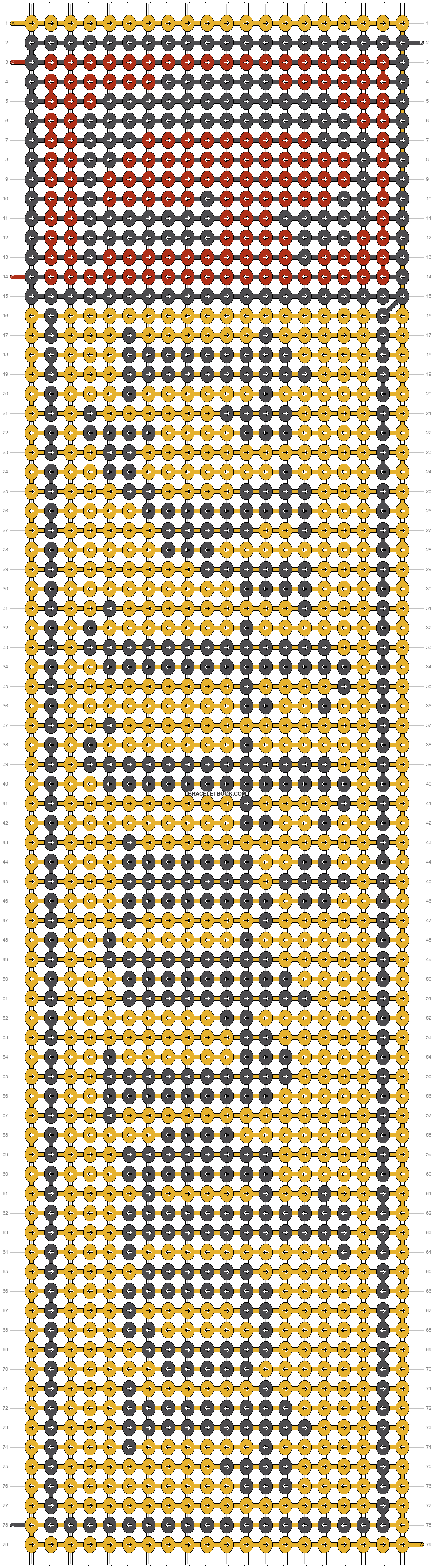 Alpha pattern #10846 pattern