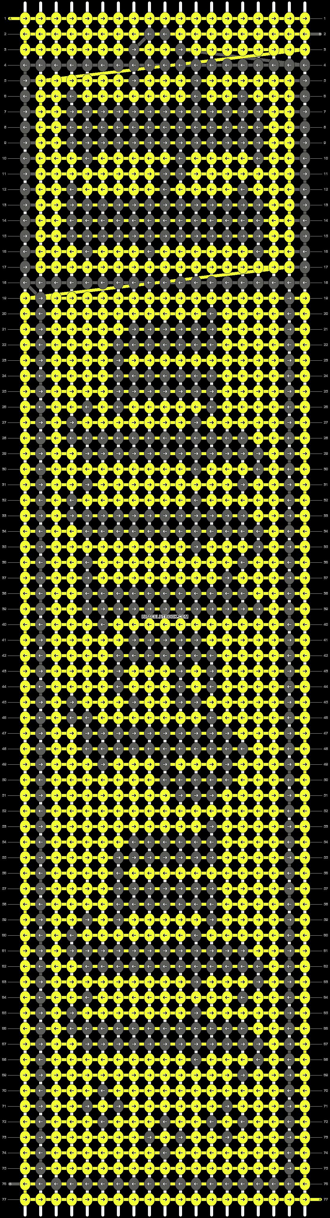 Alpha pattern #10847 pattern