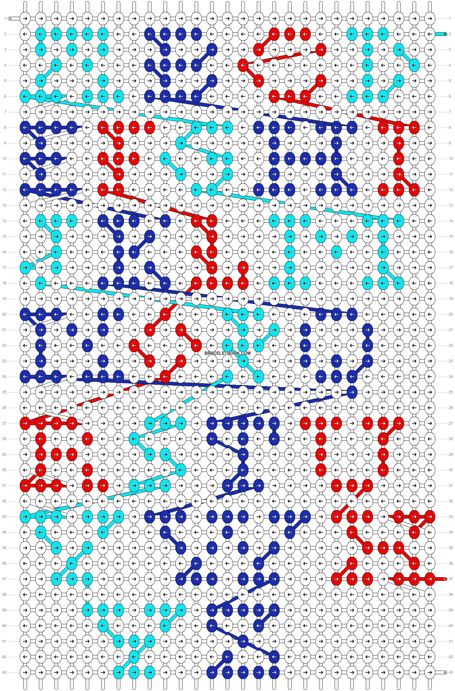 Alpha pattern #10857 pattern