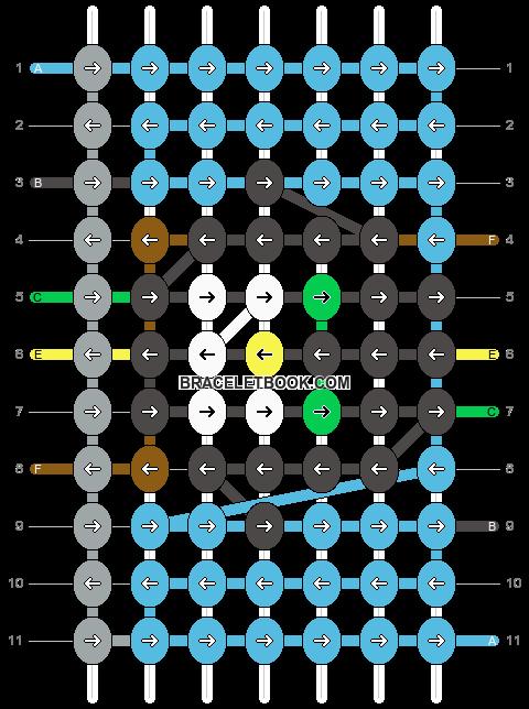 Alpha pattern #10861 pattern