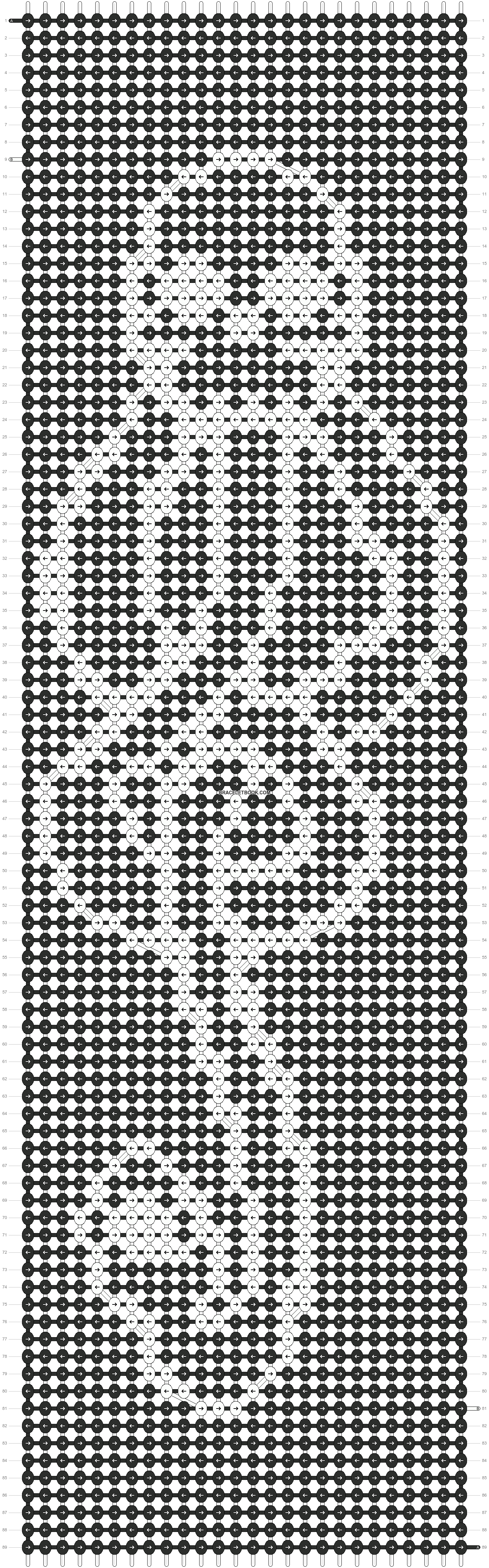 Alpha pattern #10873 pattern
