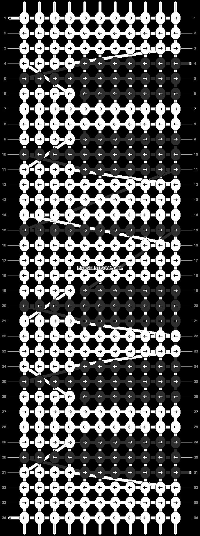 Alpha pattern #10875 pattern