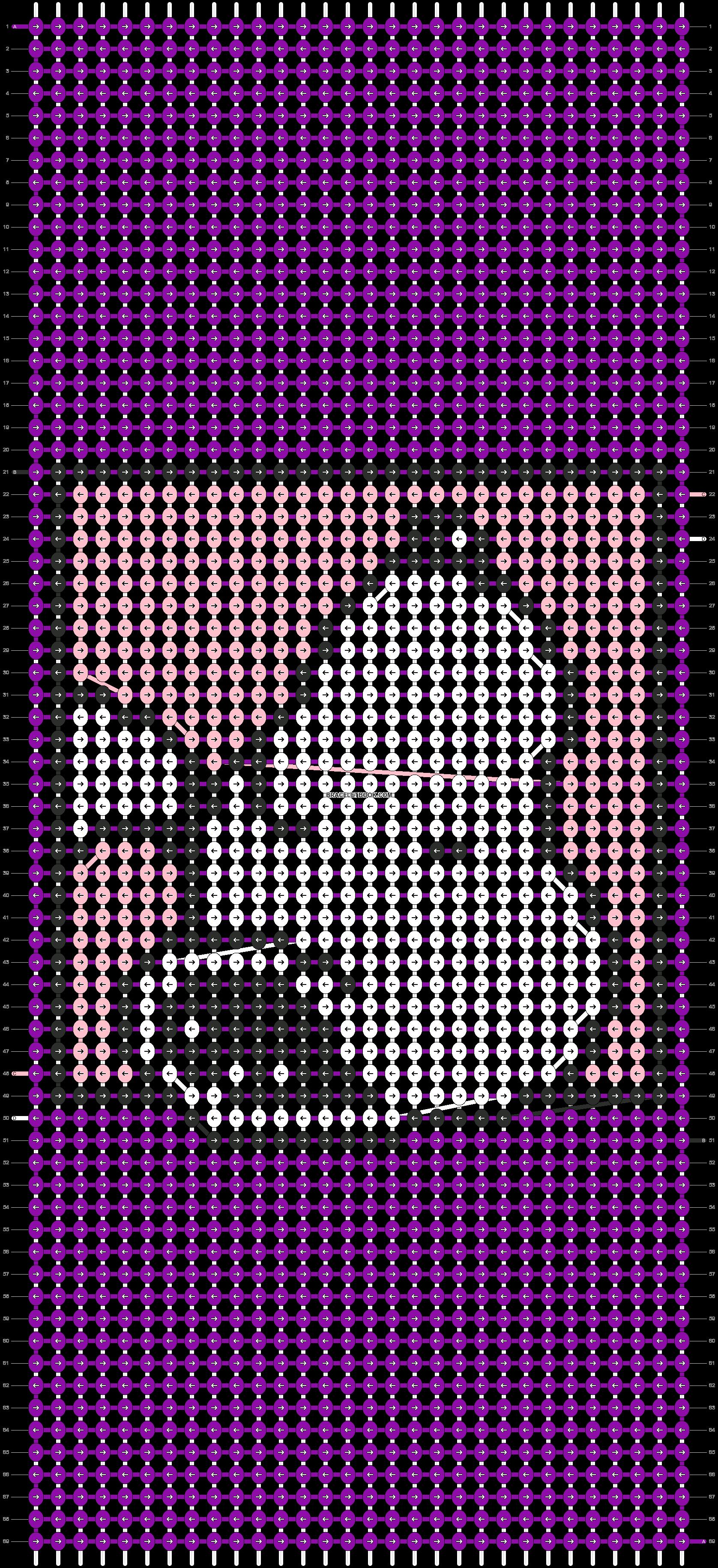 Alpha pattern #10885 pattern