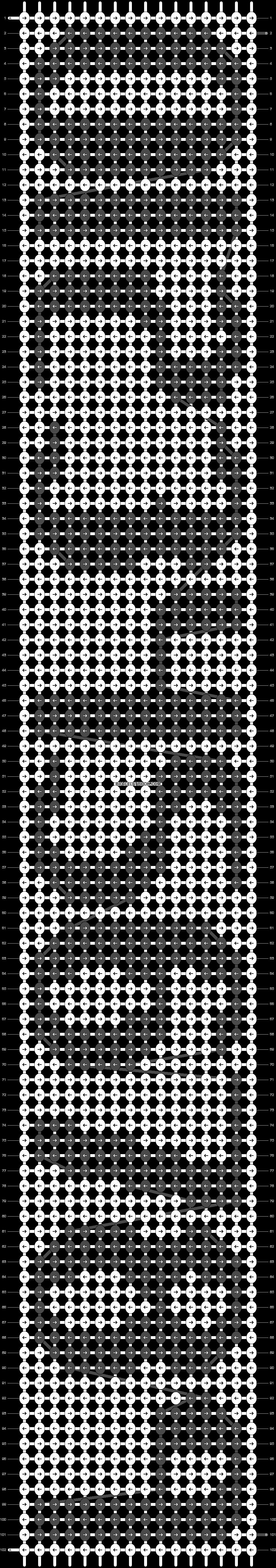 Alpha pattern #10908 pattern