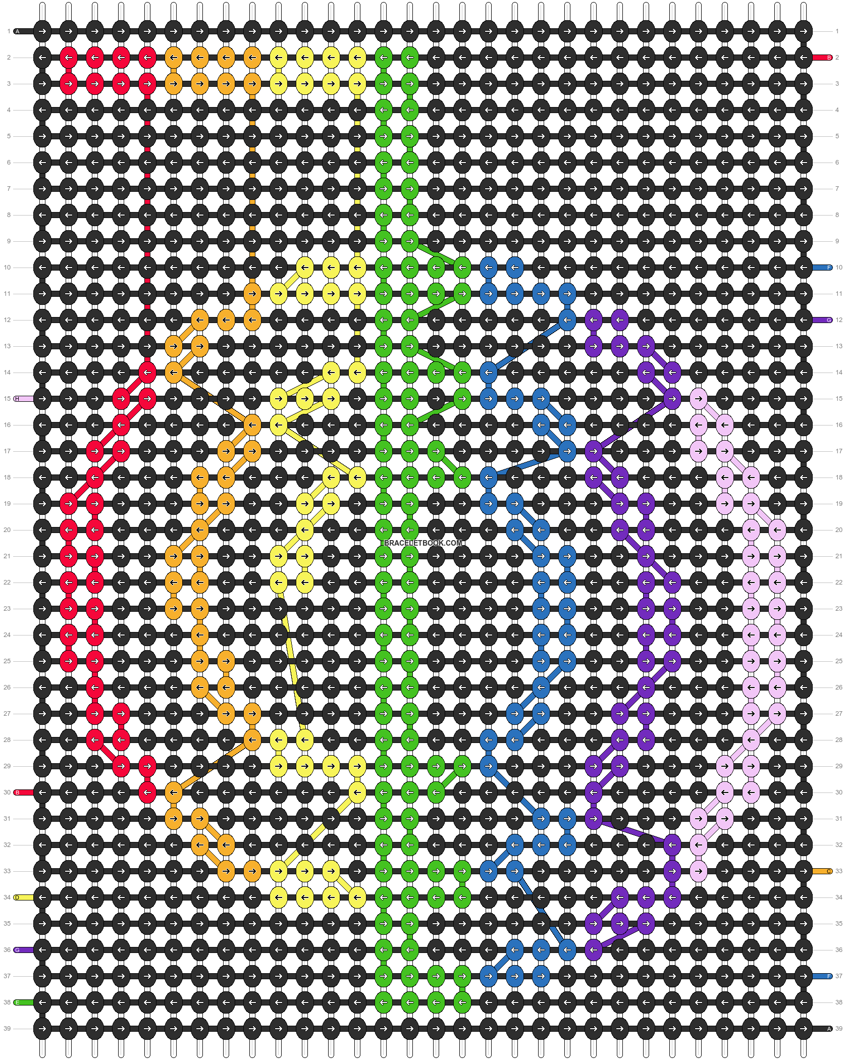 Alpha pattern #10909 pattern