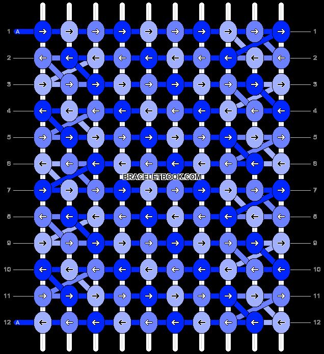 Alpha pattern #10912 pattern