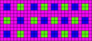 Alpha pattern #10933