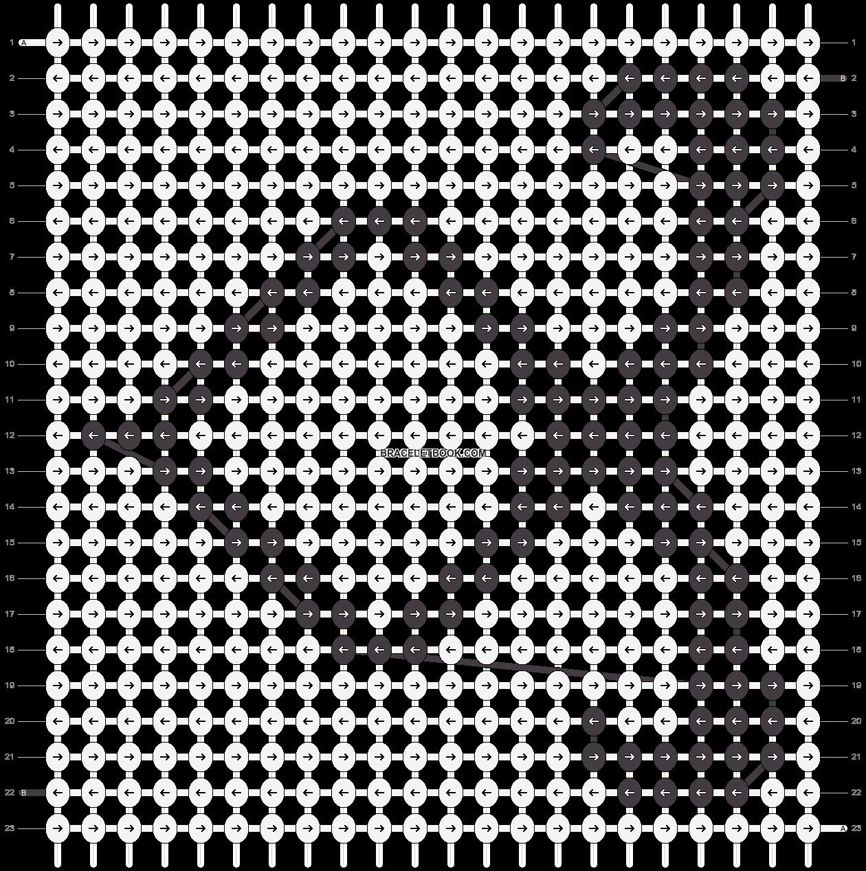 Alpha pattern #10940 pattern