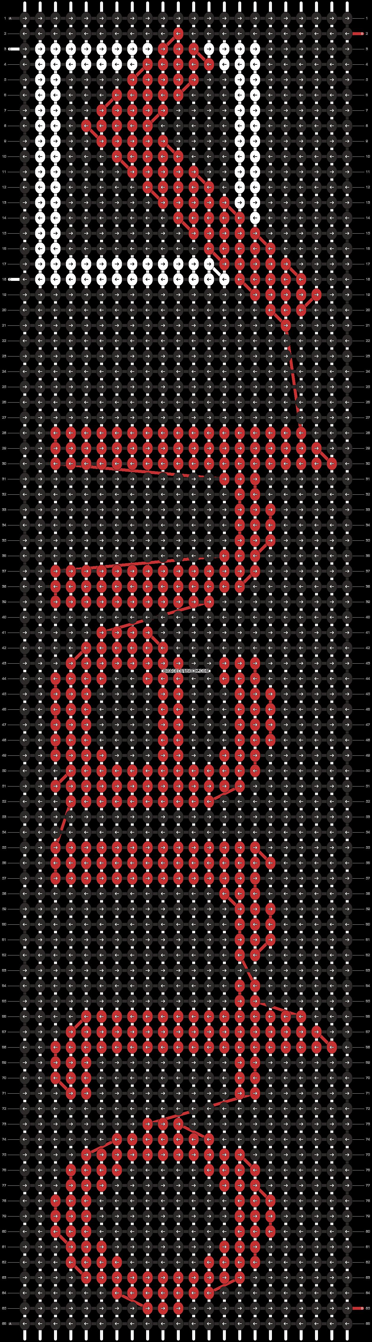 Alpha pattern #10955 pattern