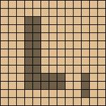 Alpha pattern #10956