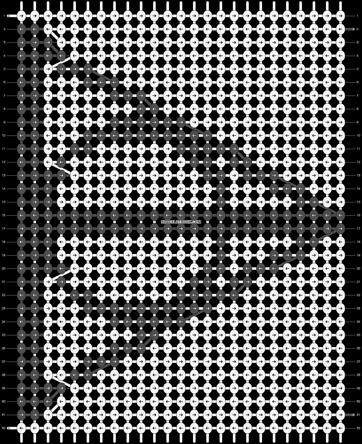 Alpha pattern #10959 pattern