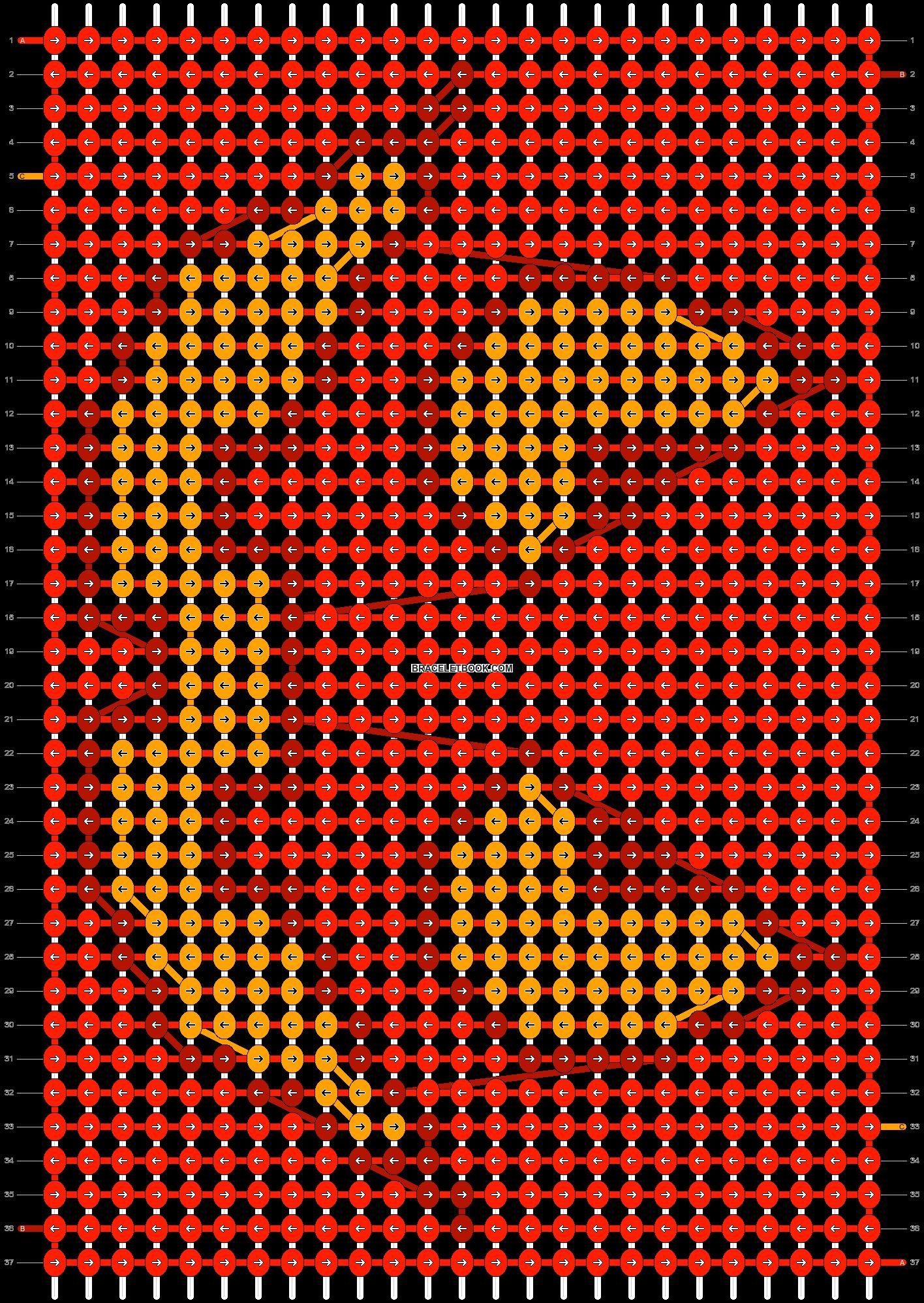 Alpha pattern #10971 pattern