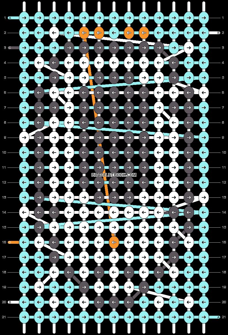 Alpha pattern #10973 pattern