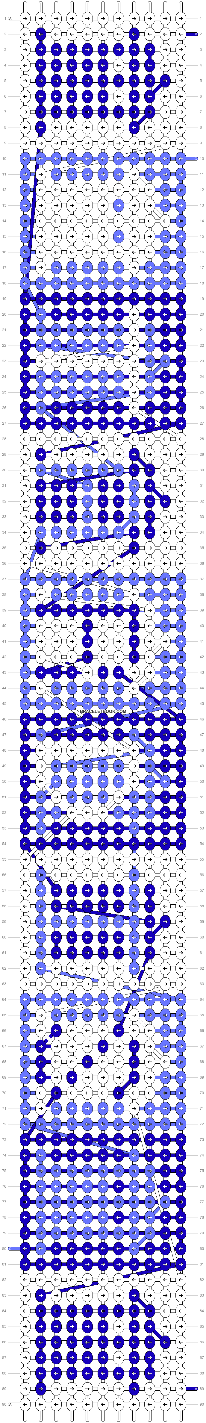 Alpha pattern #10979 pattern