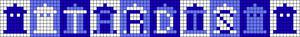 Alpha pattern #10979