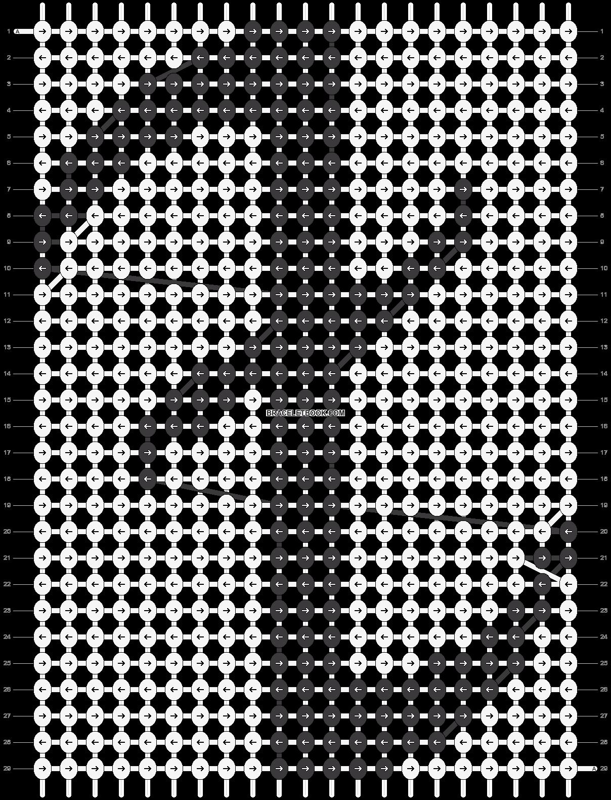 Alpha pattern #10984 pattern