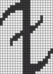 Alpha Friendship Bracelet Pattern #10984