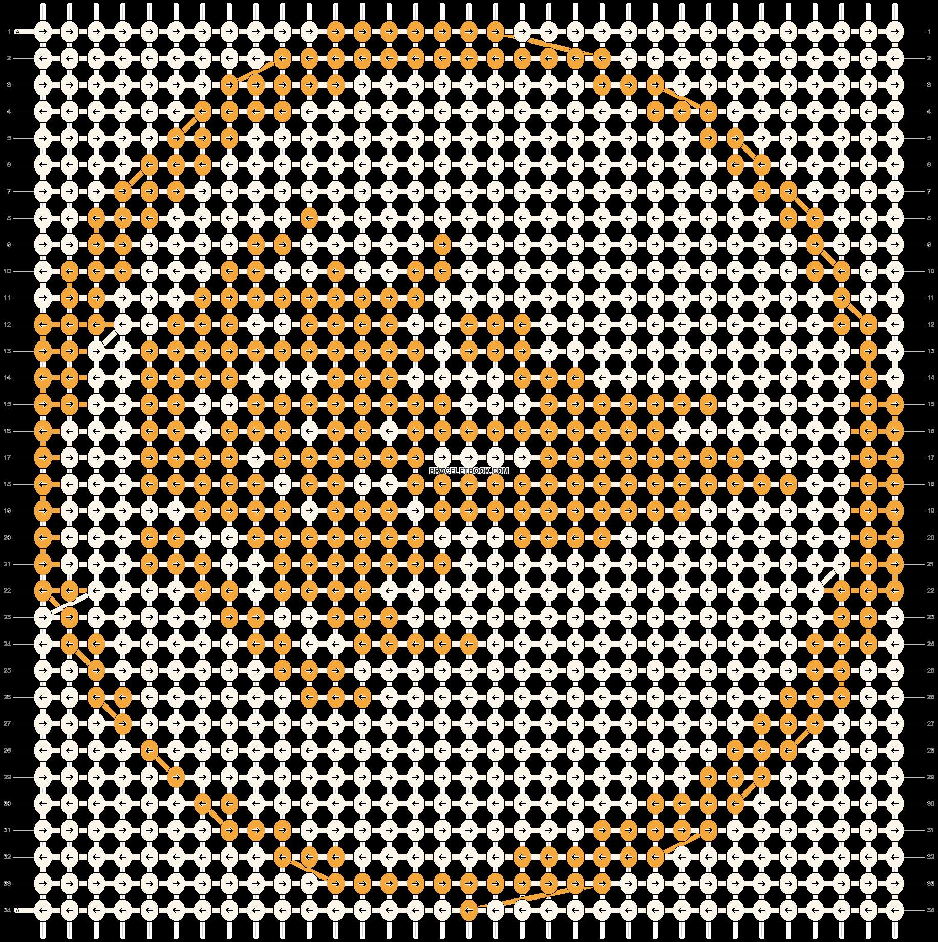 Alpha pattern #10992 pattern