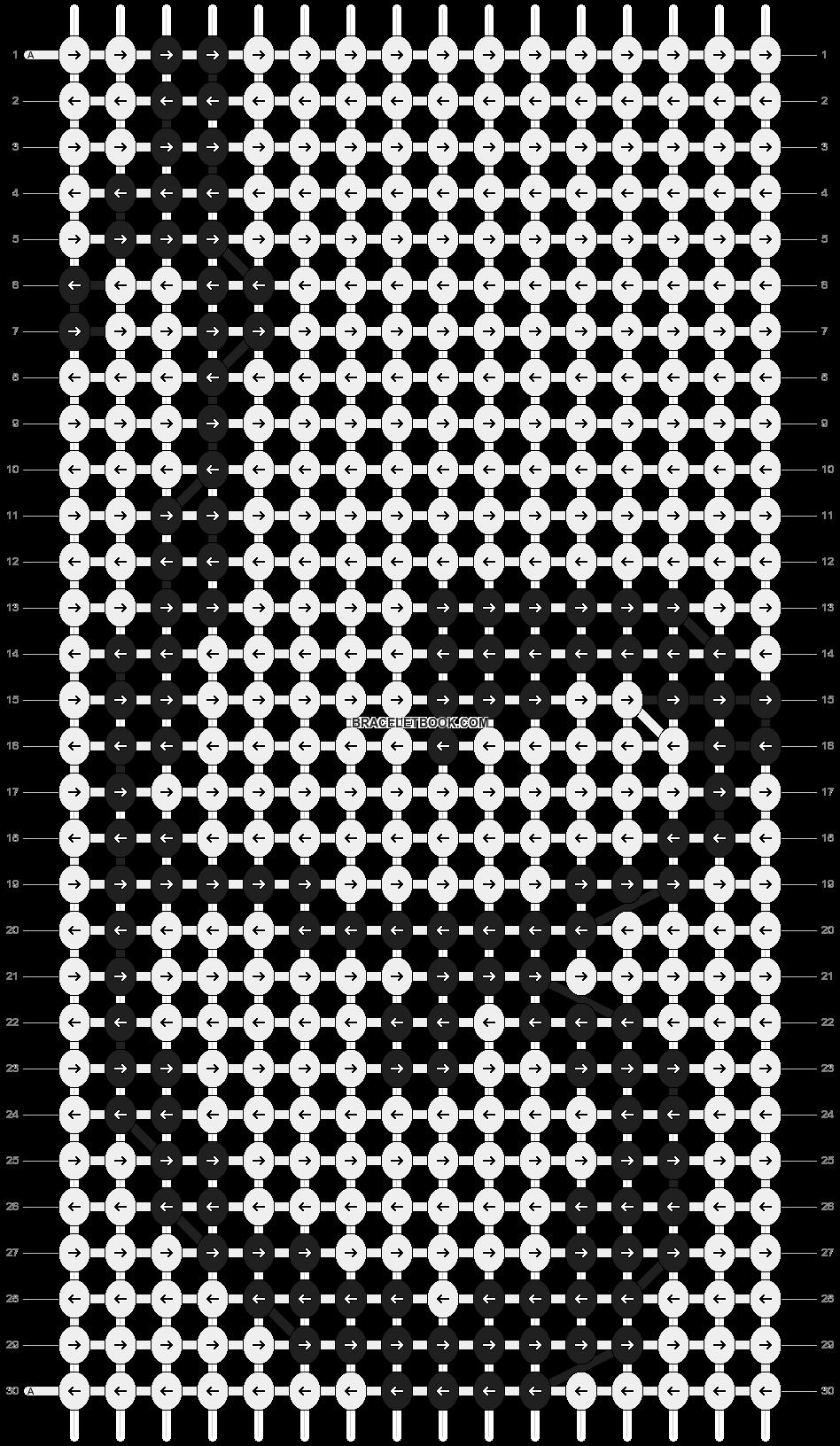 Alpha pattern #10999 pattern