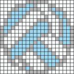 Alpha Friendship Bracelet Pattern #11004