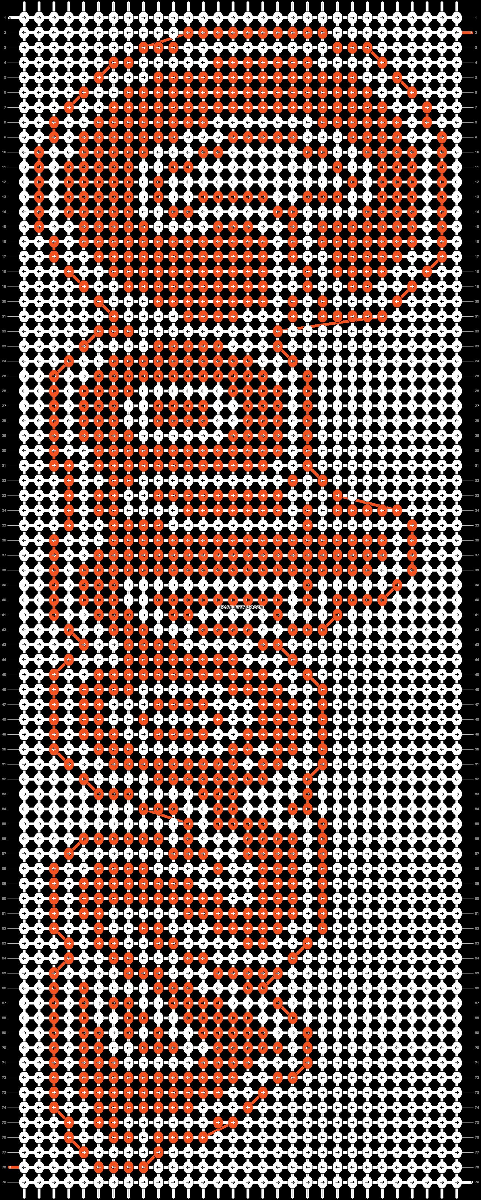 Alpha pattern #11005 pattern