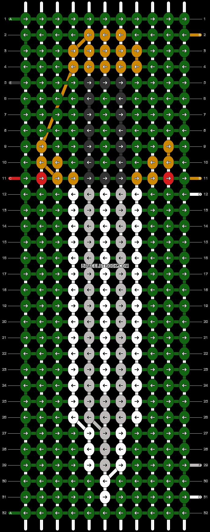 Alpha pattern #11007 pattern