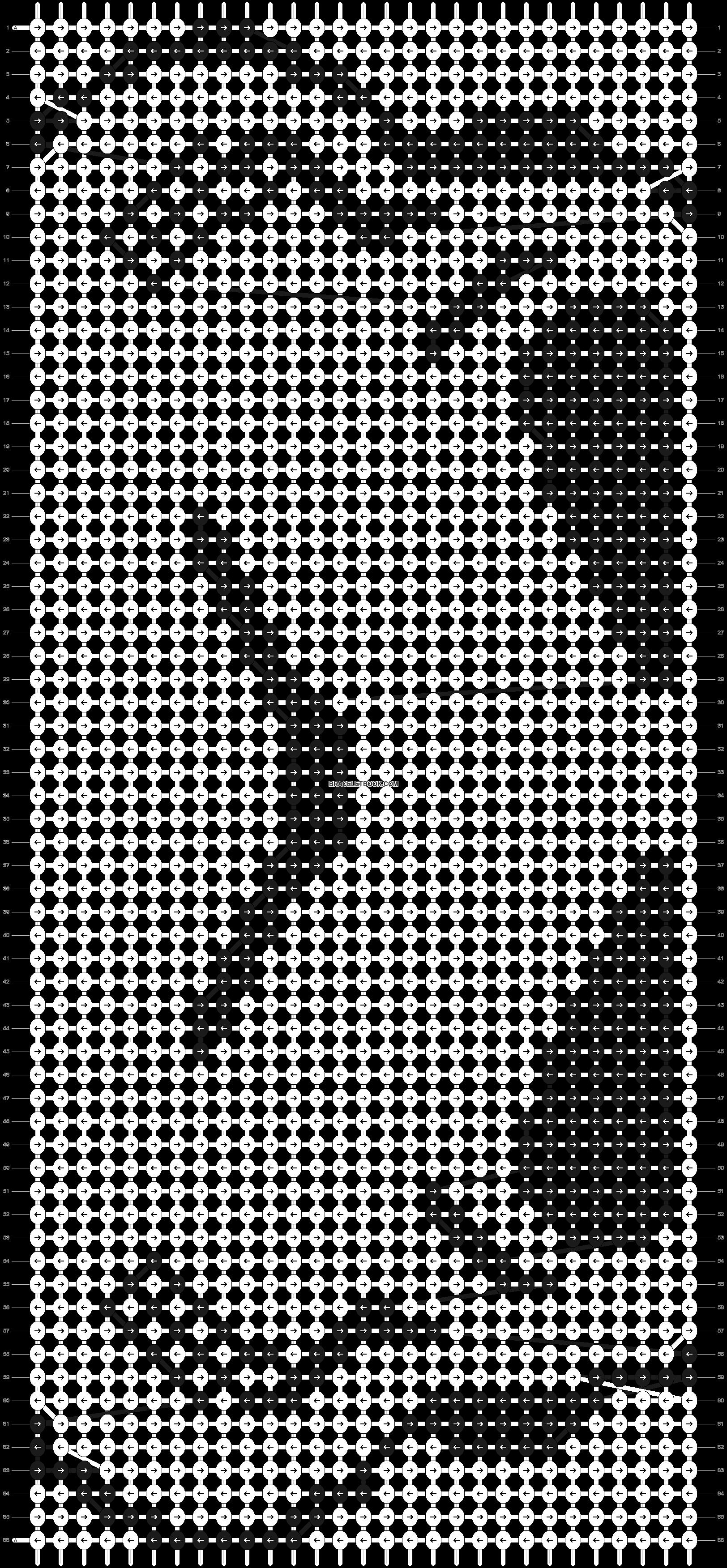 Alpha pattern #11010 pattern