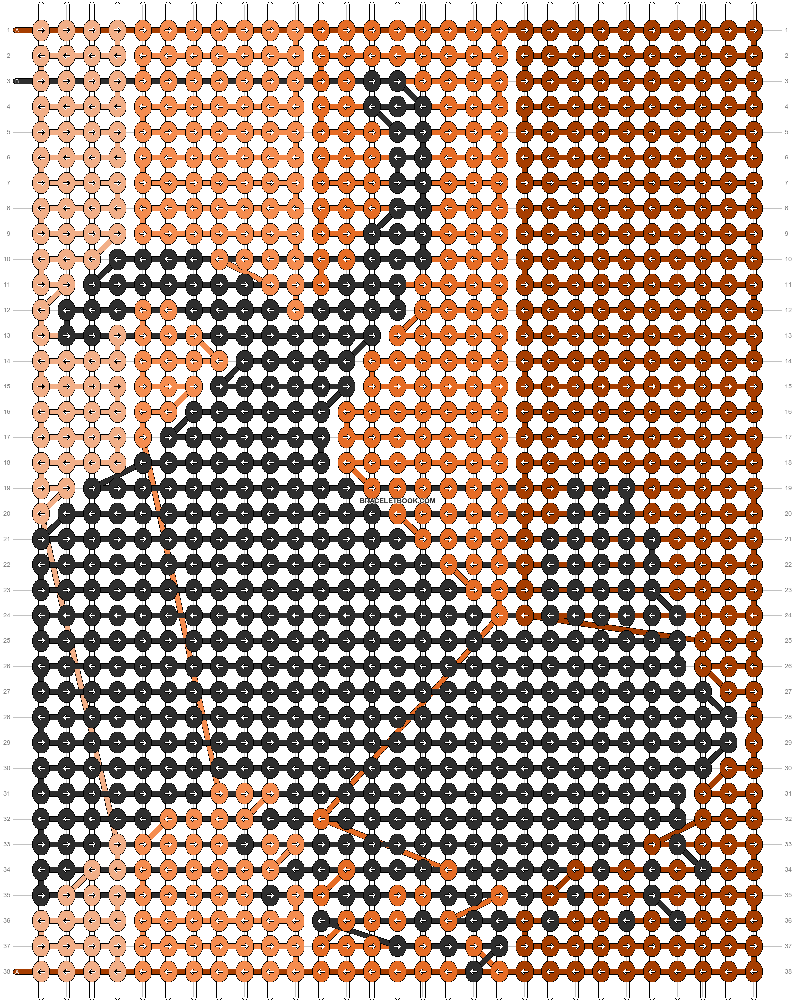 Alpha pattern #11011 pattern