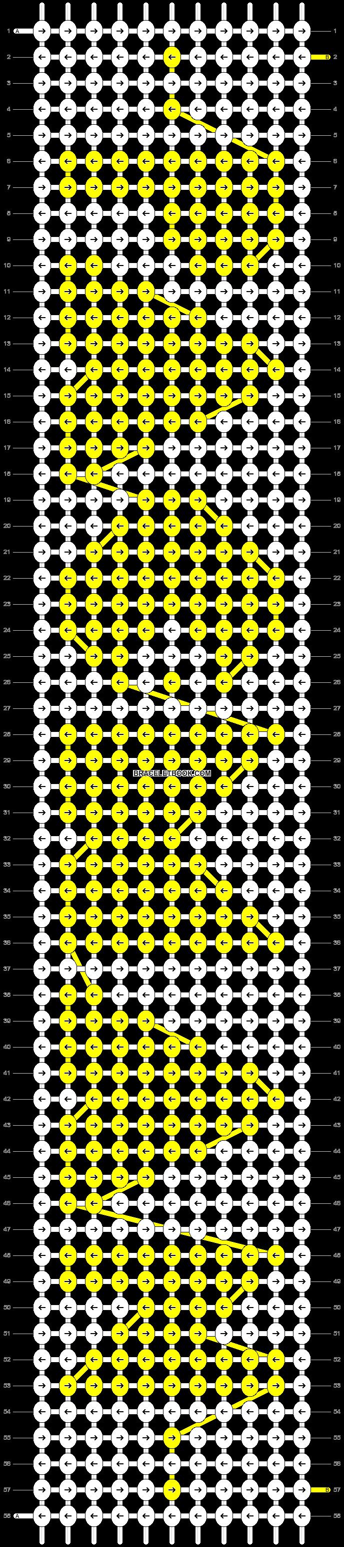 Alpha pattern #11027 pattern