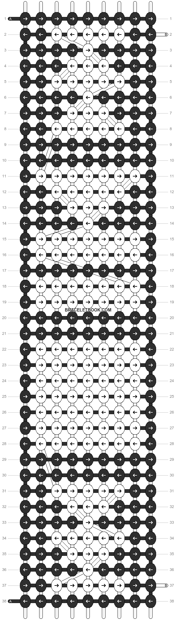 Alpha pattern #11033 pattern