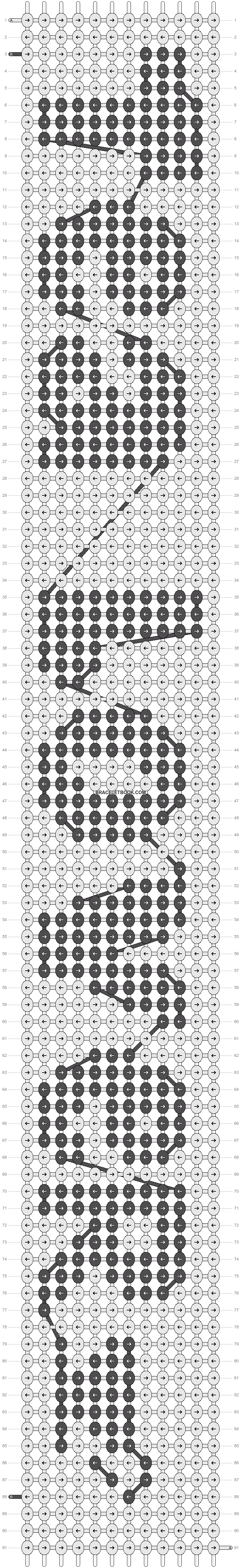 Alpha pattern #11038 pattern