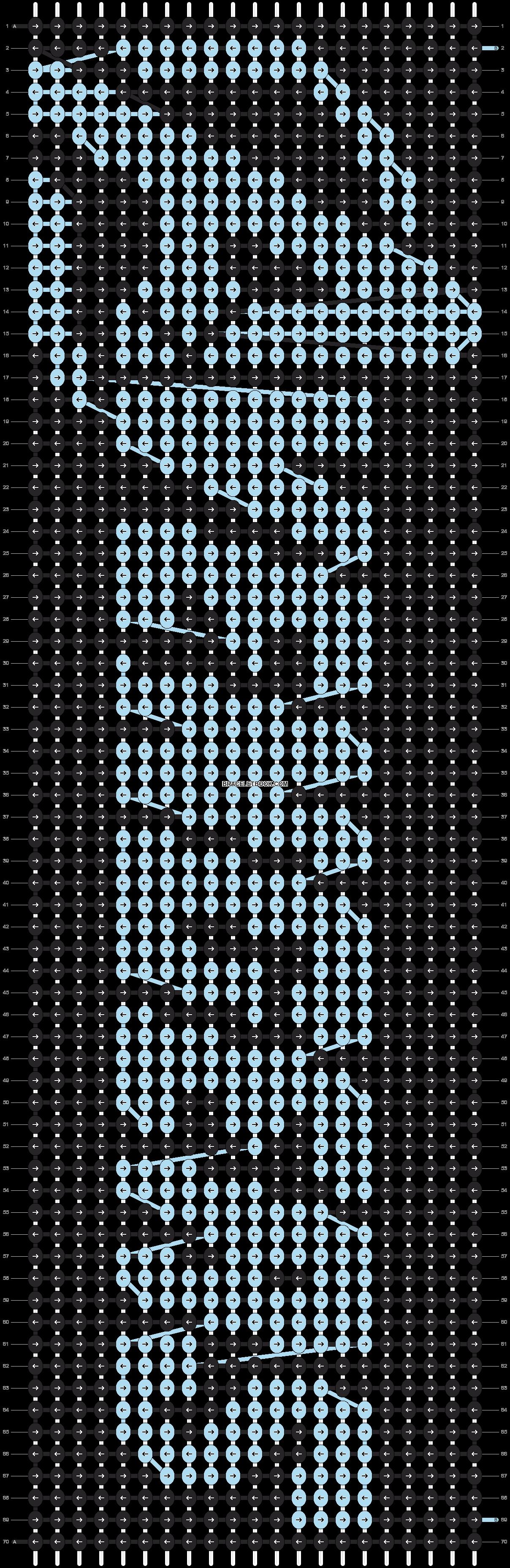 Alpha pattern #11045 pattern