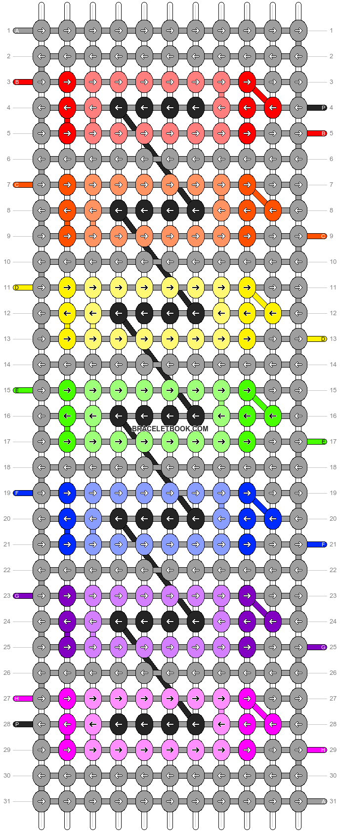Alpha pattern #11046 pattern
