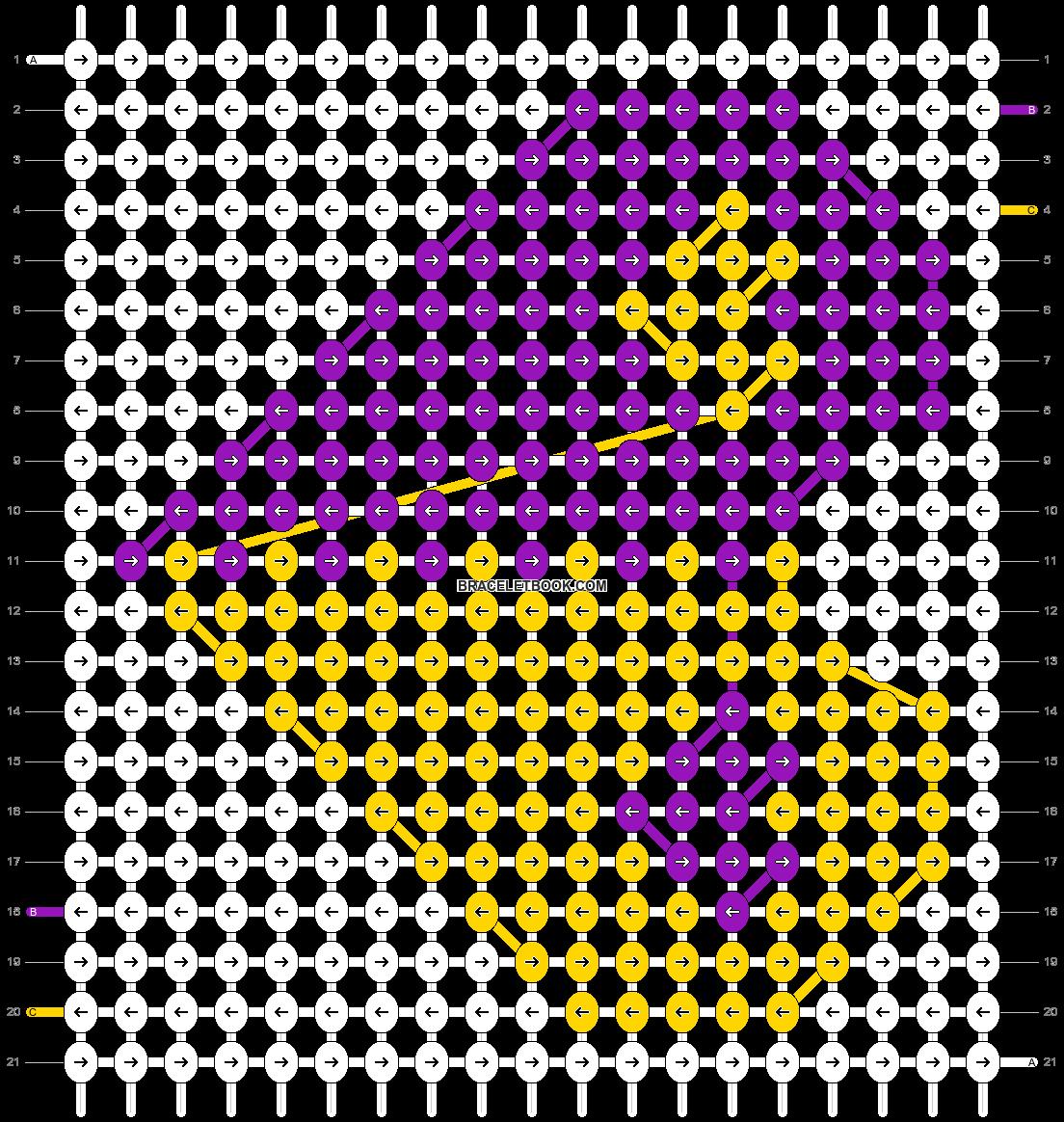 Alpha pattern #11049 pattern