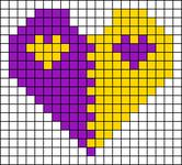 Alpha Friendship Bracelet Pattern #11049