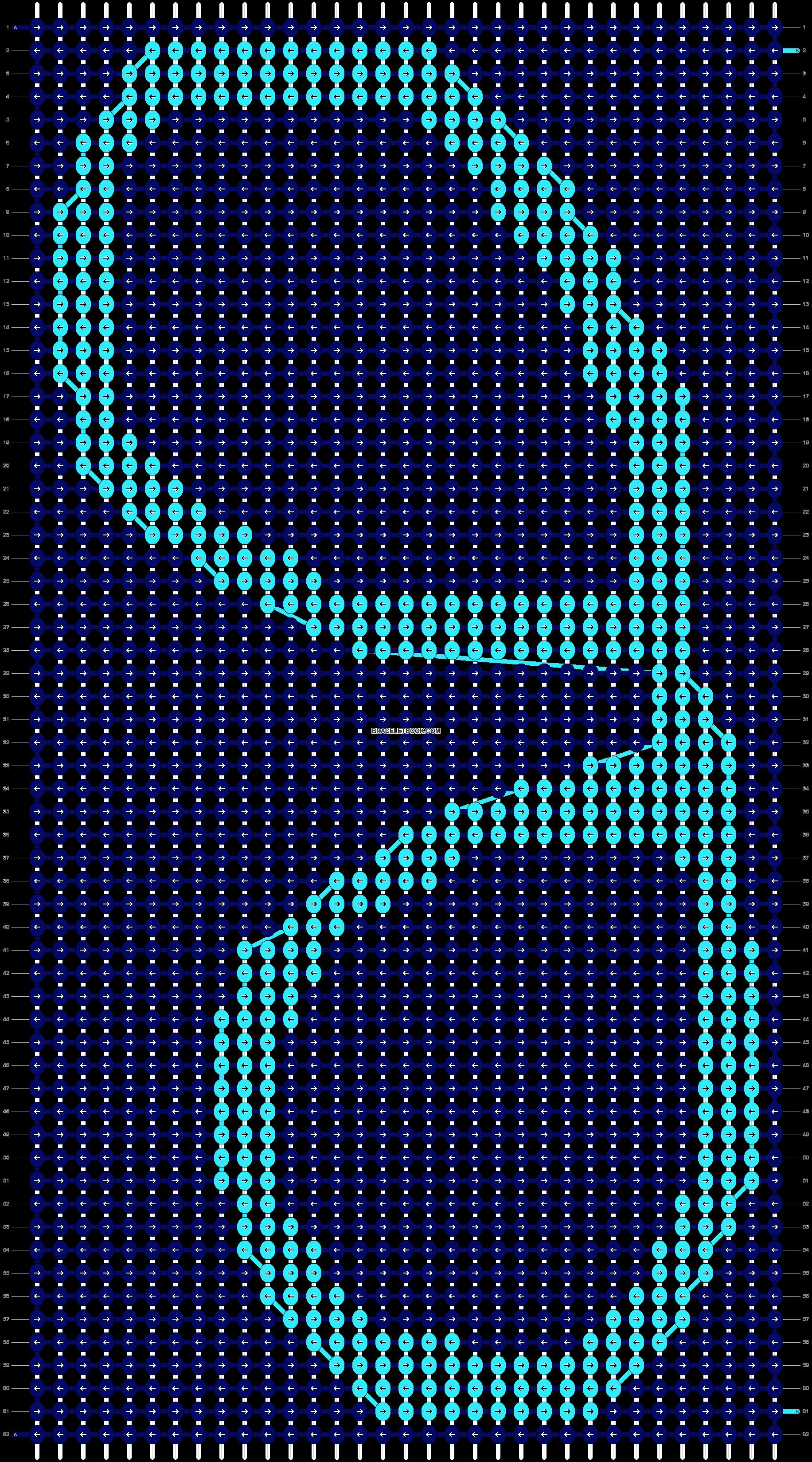 Alpha pattern #11056 pattern