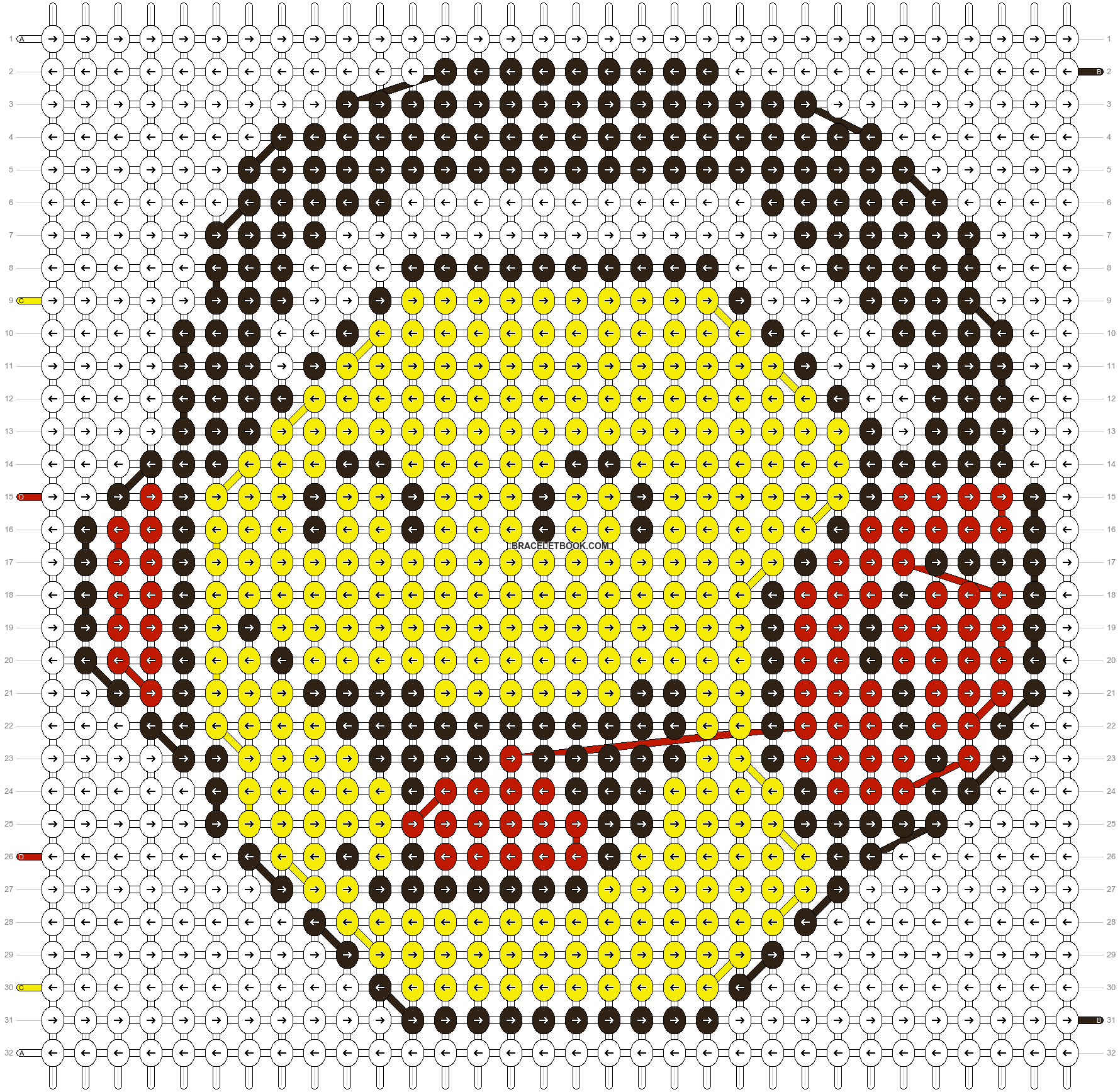 Alpha pattern #11066 pattern