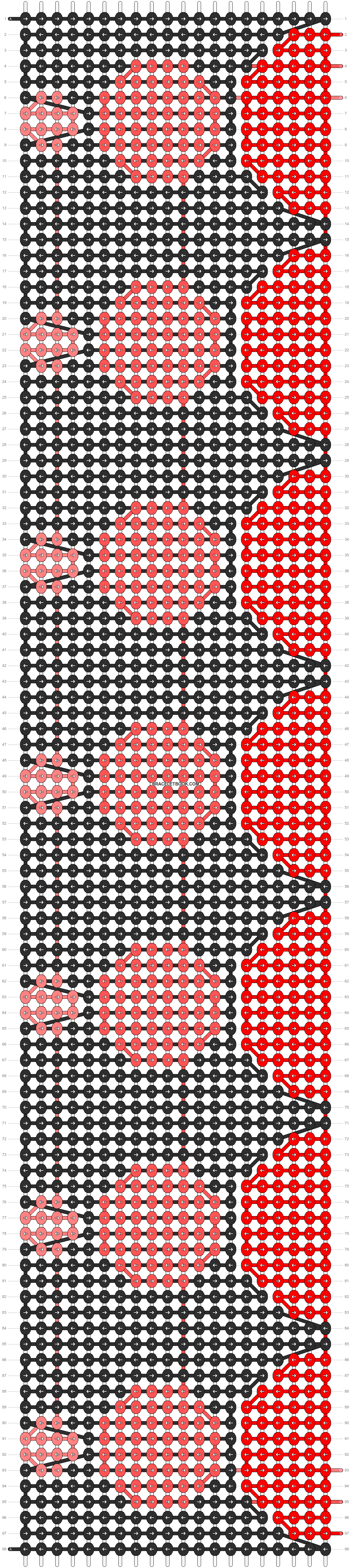 Alpha pattern #11071 pattern