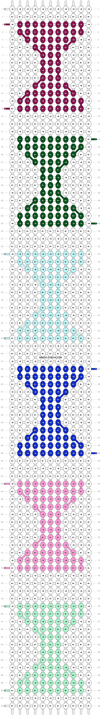 Alpha pattern #11082 pattern
