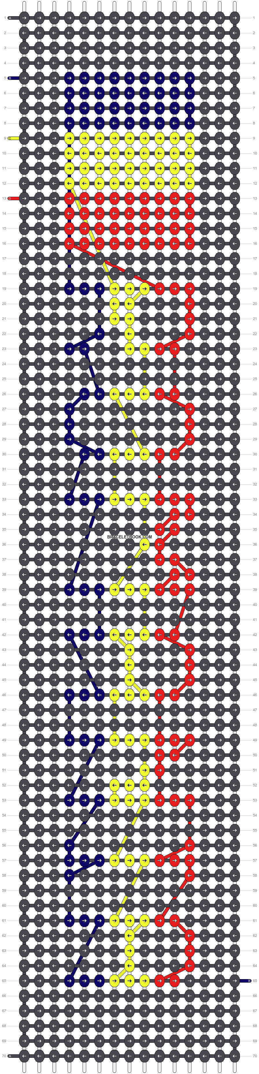 Alpha pattern #11083 pattern