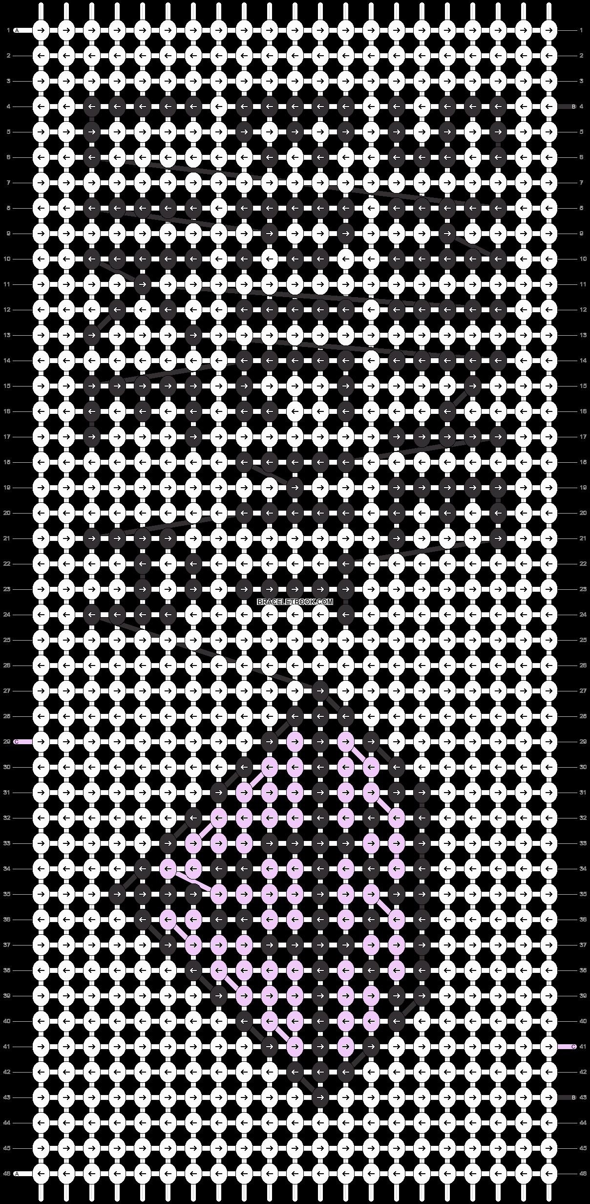 Alpha pattern #11086 pattern