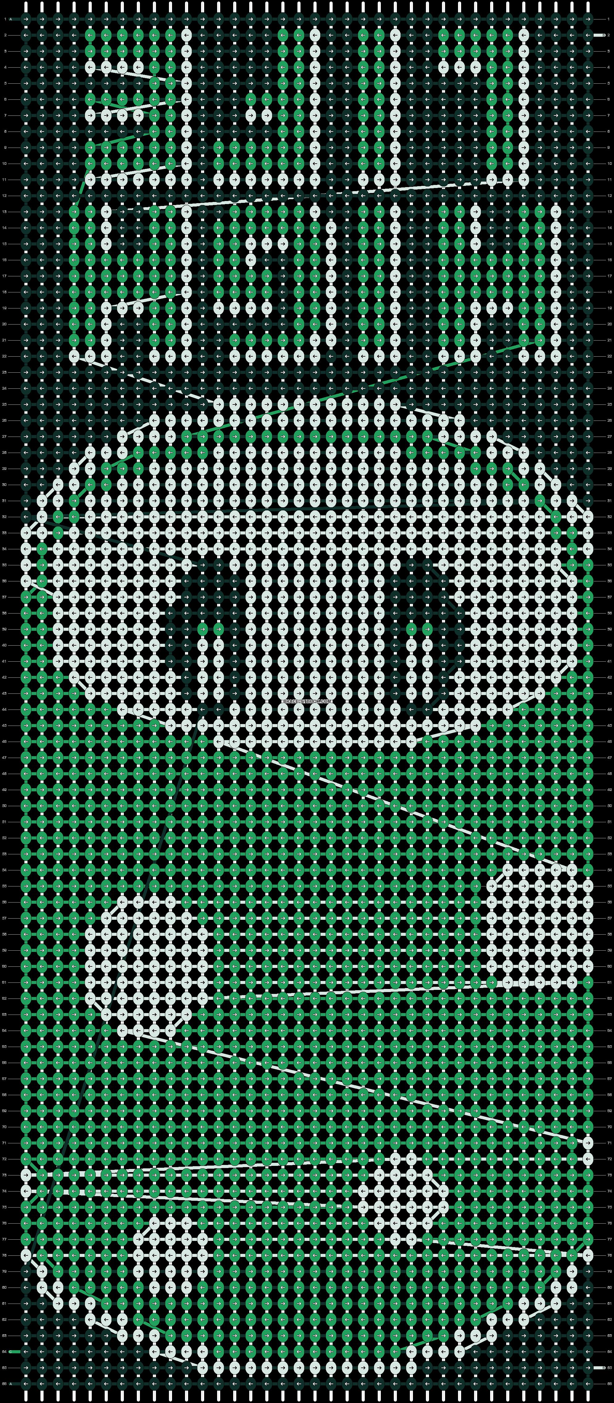 Alpha pattern #11087 pattern